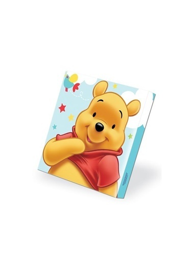 Disney Winnie Kanvas Tablo 40X40 Cm Renkli